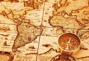 bussola mappa